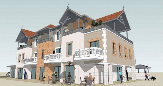 Achat / Vente appartement neuf Audenge au cœur du centre-ville (33980) - Réf. 5835