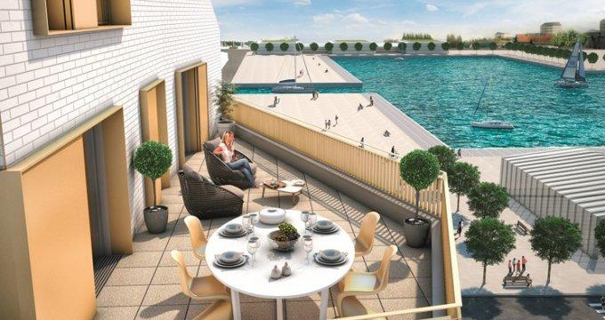 Achat / Vente appartement neuf Bordeaux Bassins à Flot (33000) - Réf. 527