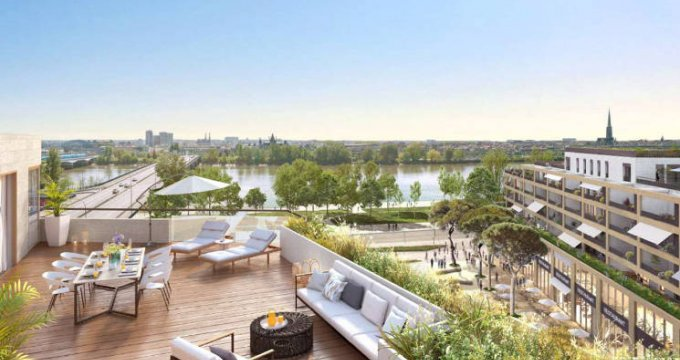Achat / Vente appartement neuf Bordeaux Quartier Bordeaux Belvédère (33000) - Réf. 2555