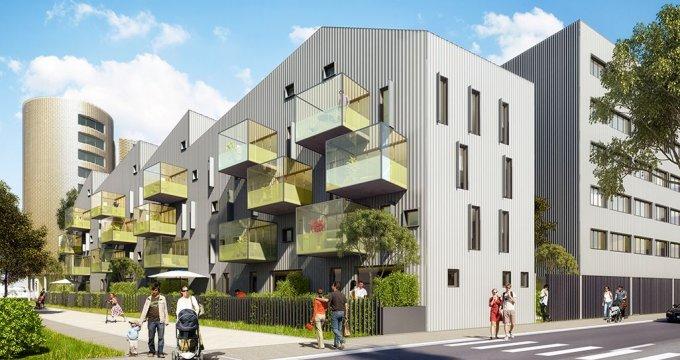 Achat / Vente appartement neuf Bordeaux quartier des Bassins (33000) - Réf. 1496