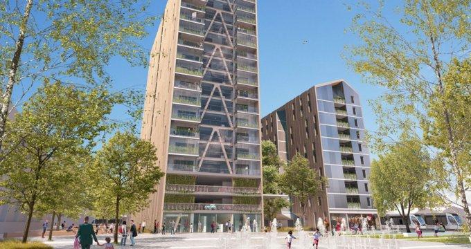 Achat / Vente appartement neuf Bordeaux quartier Euratlantique centre (33000) - Réf. 3436