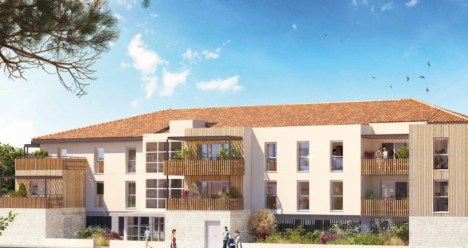 Achat / Vente appartement neuf GRAND ANGLE (33470) - Réf. 2293