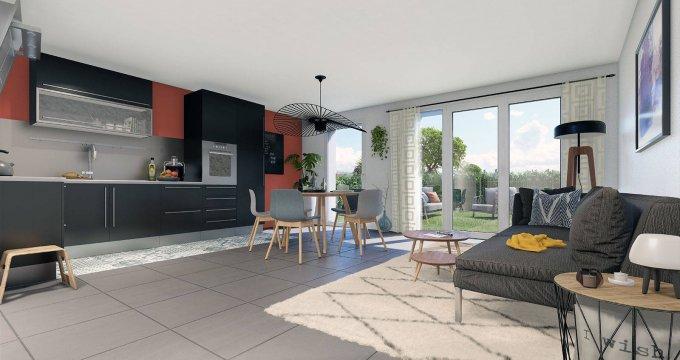 Achat / Vente appartement neuf Le Bouscat proche du parc de la Chêneraie (33110) - Réf. 6282