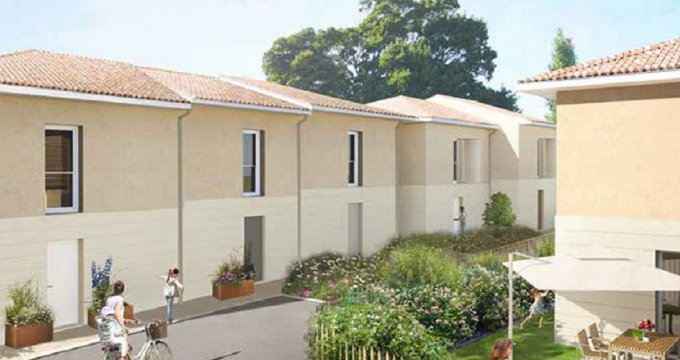 Achat / Vente appartement neuf Le Taillan Médoc, proche future station de Tramway Chai (33320) - Réf. 3893