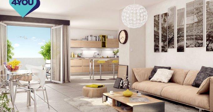 Achat / Vente appartement neuf Lormont proche quartier vieux Lormont (33310) - Réf. 5132