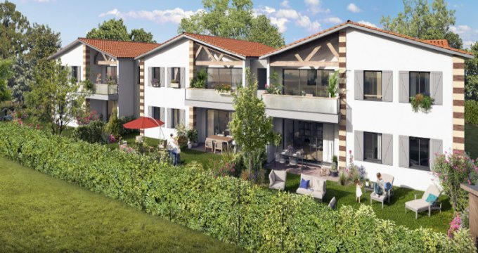 Achat / Vente appartement neuf Parempuyre à 10min à pied du centre ville (33290) - Réf. 5438