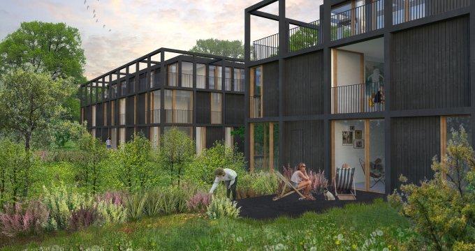 appartement neuf pessac r sidence de standing dans parc arbor proche tram camponac 33600. Black Bedroom Furniture Sets. Home Design Ideas