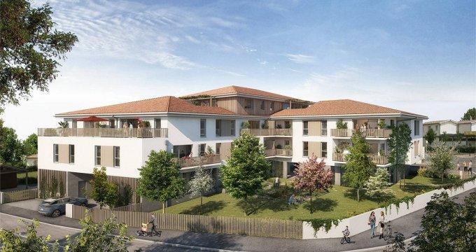 Achat / Vente appartement neuf Saint-Vincent-de-Paul à 20min de Bordeaux (33440) - Réf. 6313