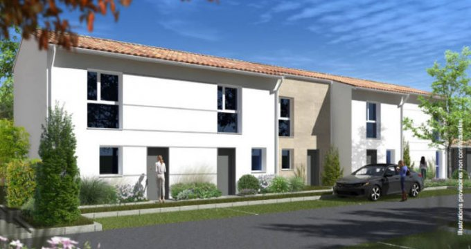 Achat / Vente appartement neuf Villenave d'Ornon cœur quartier Bocage (33140) - Réf. 4880