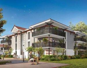 Achat / Vente appartement neuf Audenge résidence dans un environnement boisé et paysagé, à seulement 8min des Plages (33980) - Réf. 1028