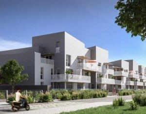Achat / Vente appartement neuf Bègles à 500 mètres de Bègles Plage (33130) - Réf. 3894