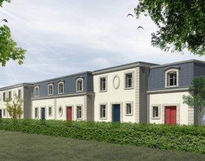 Achat / Vente appartement neuf Le Bouscat centre-maison de ville style bourgeois (33110) - Réf. 2214