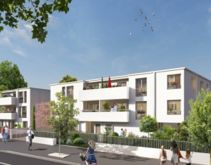 Achat / Vente appartement neuf Mérignac tramway Fontaine d'Arlac (33700) - Réf. 5184