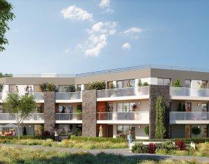 Achat / Vente appartement neuf Pessac résidence de standing dans parc arboré proche tram Camponac (33600) - Réf. 1526