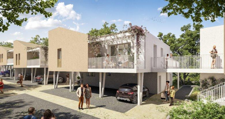 Achat / Vente appartement neuf Artigues-près-Bordeaux, au cœur du Parc Extérieur (33370) - Réf. 6056