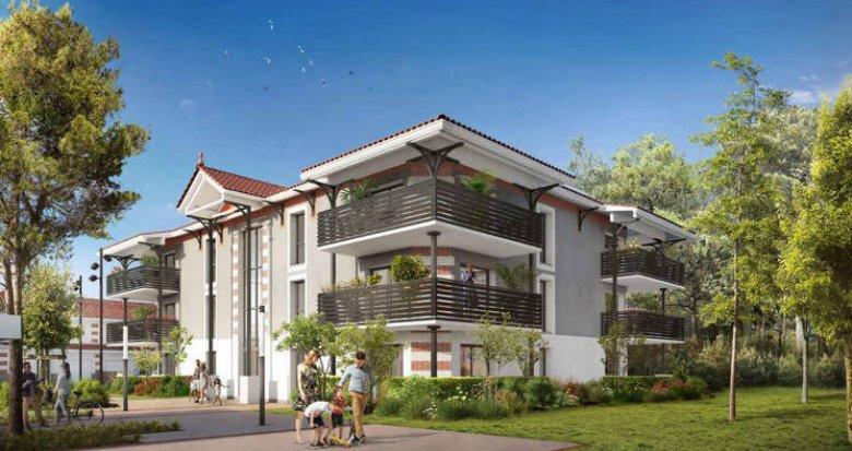 Achat / Vente appartement neuf Audence au cœur d'un quartier calme et résidentiel (33980) - Réf. 3905