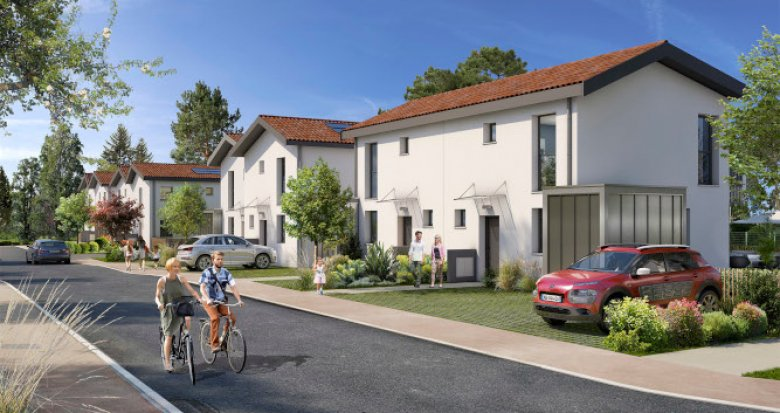 Achat / Vente appartement neuf Blanquefort à 15 min à pied du vieux bourg (33290) - Réf. 5439