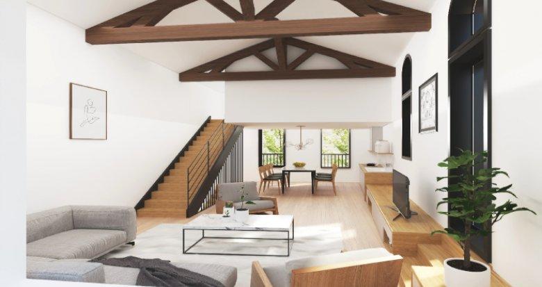 Achat / Vente appartement neuf Bordeaux à 200m station Tram Victoire (33000) - Réf. 5306