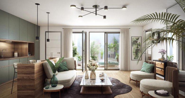 Achat / Vente appartement neuf Bordeaux à 400m de Gambetta (33000) - Réf. 5689