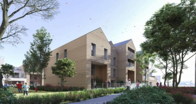 Achat / Vente appartement neuf Bordeaux à 5 min à pied du tram Stalingrad (33000) - Réf. 5851
