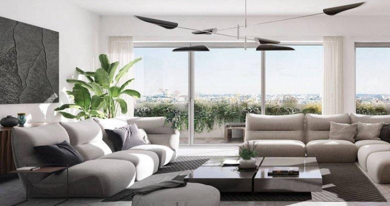 Achat / Vente appartement neuf Bordeaux à 500m du Parc Bordelais (33000) - Réf. 5319