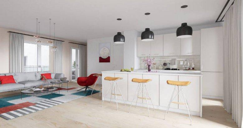 Achat / Vente appartement neuf Bordeaux à 7 min à pied du centre (33000) - Réf. 4878
