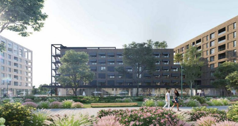 Achat / Vente appartement neuf Bordeaux à deux pas des Bassins à Flot (33000) - Réf. 4556