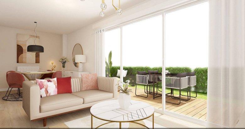 Achat / Vente appartement neuf Bordeaux à proximité du CHU (33000) - Réf. 6227