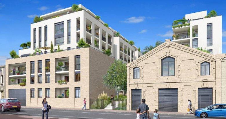 Achat / Vente appartement neuf Bordeaux au pied de la Gare Saint Jean (33000) - Réf. 5152