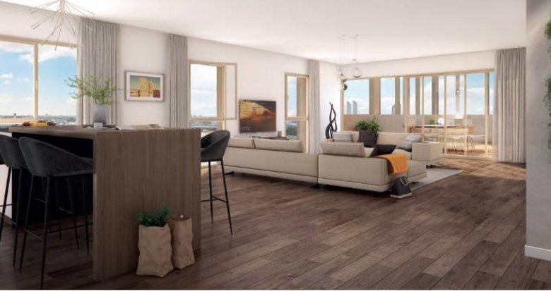 Achat / Vente appartement neuf Bordeaux au pied du Pont Jacques Chaban-Delmas (33000) - Réf. 4021