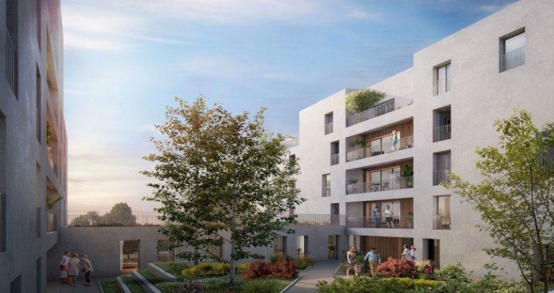 Achat / Vente appartement neuf Bordeaux Brazza au pied de la future Brazzaligne (33000) - Réf. 5055