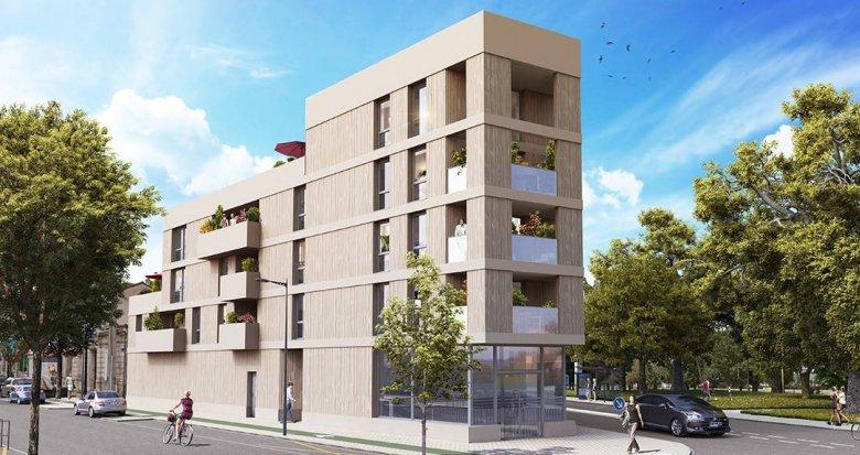 Achat / Vente appartement neuf Bordeaux Caudéran secteur Bel Air (33000) - Réf. 6072