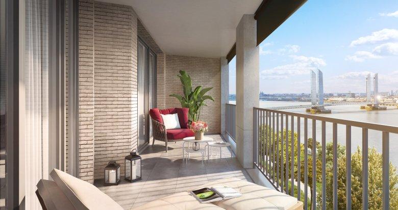 Achat / Vente appartement neuf Bordeaux cœur écoquartier Brazza (33000) - Réf. 3093