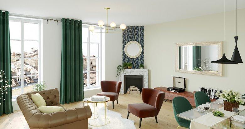 Achat / Vente appartement neuf Bordeaux, entre les Capucins et la Victoire (33000) - Réf. 5240