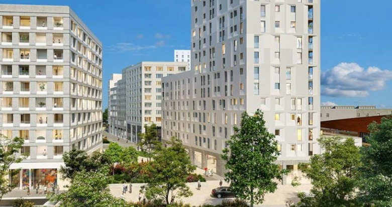Achat / Vente appartement neuf Bordeaux Jardin de l'Ars (33000) - Réf. 6016