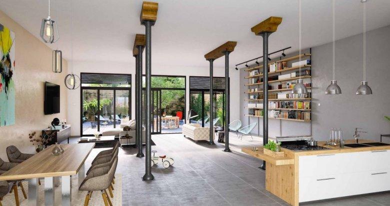 Achat / Vente appartement neuf Bordeaux, Lofts d'exception (33000) - Réf. 1570