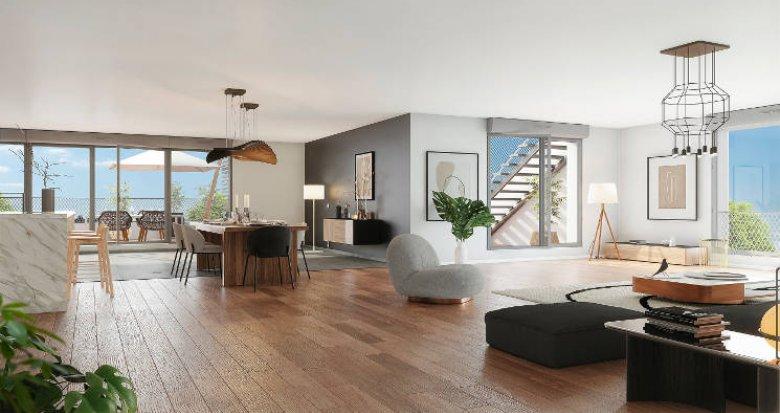 Achat / Vente appartement neuf Bordeaux proche cité du vin des Bassins à Flot (33000) - Réf. 6010