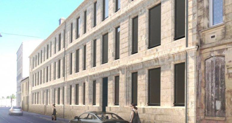 Achat / Vente appartement neuf Bordeaux proche du Quai des Chartrons (33000) - Réf. 308