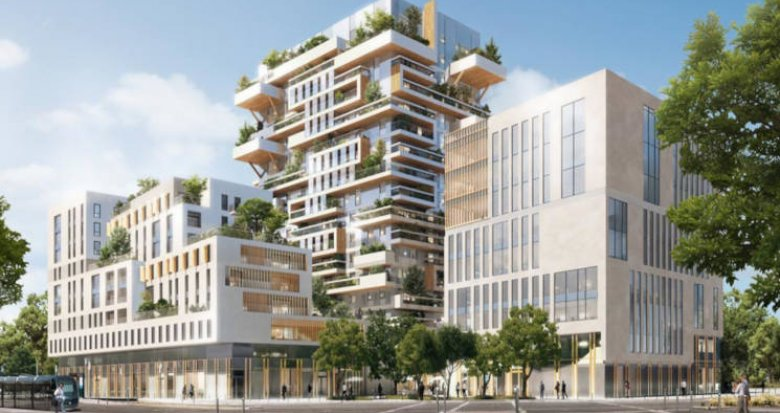 Achat / Vente appartement neuf Bordeaux proche gare (33000) - Réf. 3494
