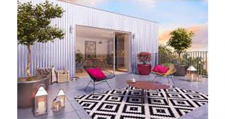 Achat / Vente appartement neuf Bordeaux proche Gare de Caudéran (33000) - Réf. 2682