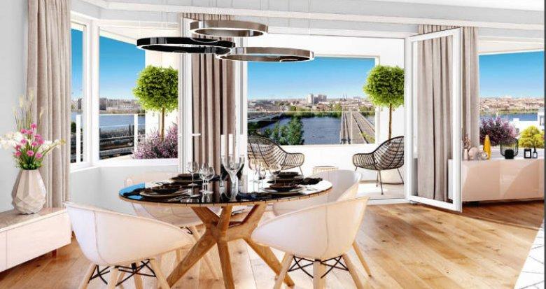 Achat / Vente appartement neuf Bordeaux quartier Belvédère (33000) - Réf. 4827