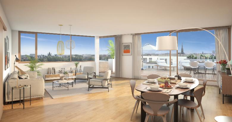Achat / Vente appartement neuf Bordeaux Quartier Bordeaux Belvédère (33000) - Réf. 2559