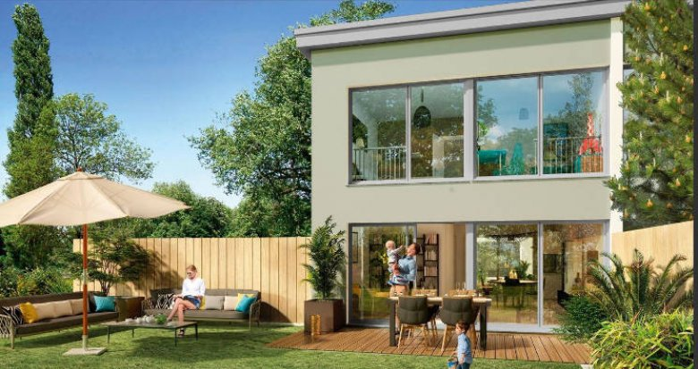 Achat / Vente appartement neuf Bordeaux quartier Caudéran proche Collège Saint André (33000) - Réf. 3302