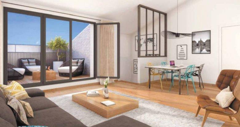 Achat / Vente appartement neuf Bordeaux quartier Chartrons (33000) - Réf. 3817