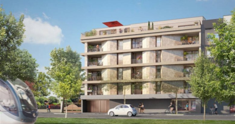 Achat / Vente appartement neuf Bordeaux quartier de la Bastide (33000) - Réf. 2739