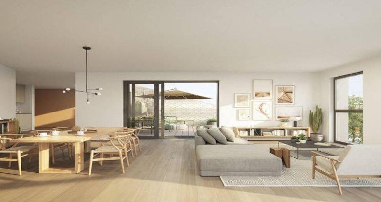 Achat / Vente appartement neuf Bordeaux, résidence intimiste au coeur de la Bastide (33000) - Réf. 5005