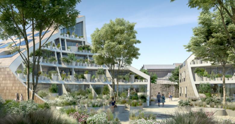 Achat / Vente appartement neuf Bordeaux rive droite face à la promenade des Quais (33000) - Réf. 5331