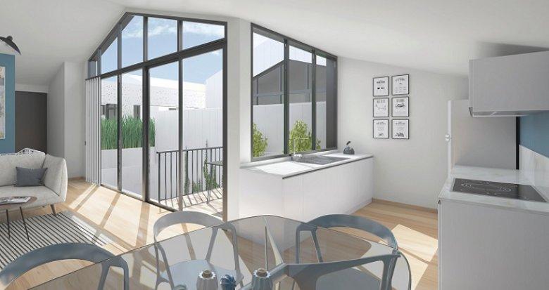Achat / Vente appartement neuf Bordeaux secteur Chartrons (33000) - Réf. 4288