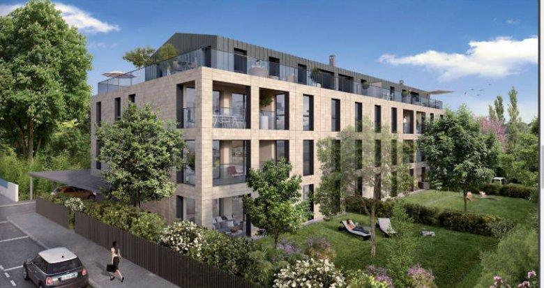 Achat / Vente appartement neuf Bouscat proche Parc de l'Hermitage (33110) - Réf. 4020