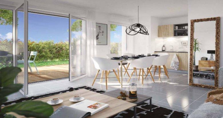 Achat / Vente appartement neuf Bruges proche ligne C du tramway (33520) - Réf. 4546